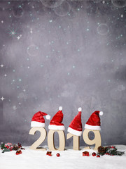 Background for christmas and new year