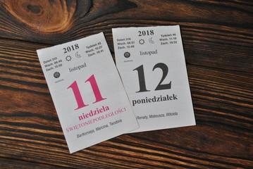 11 i 12 listopada - Polskie Święto Niepodległości