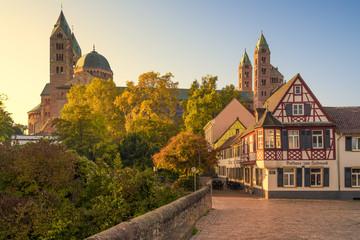 Dom zu Speyer im Herbst
