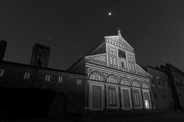 Fototapete - Church San Miniato al Monte in Florence, Tuscany, Italy