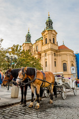 Église Saint-Nicolas Place de la Vieille-Ville de Prague
