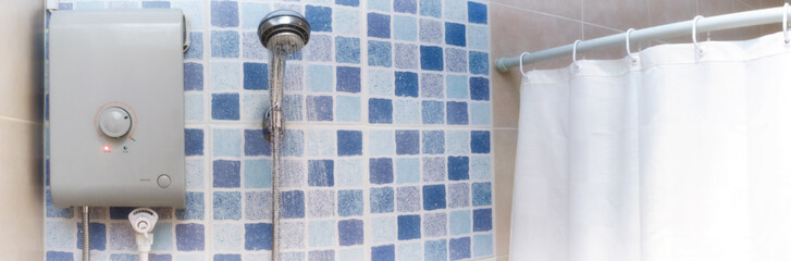 Hot Water for Showering from an Electric Powered Water Heater