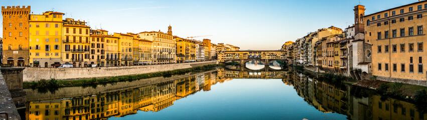 Aluminium Prints Artistic monument Ponte Vecchio - Florence - Italia