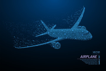 Commercial airliner concept Wall mural