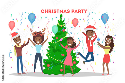 office christmas party free