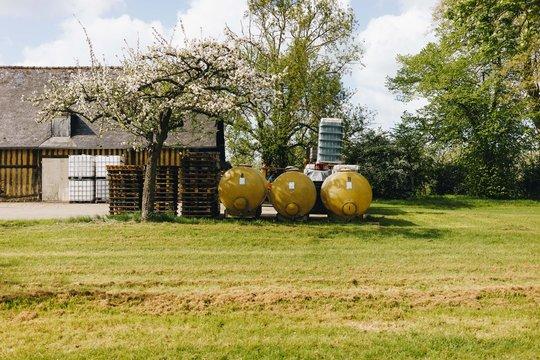 Cider farm in Normandy