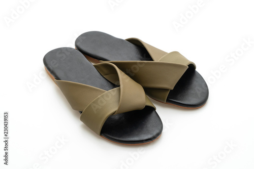 1c4355f99b74 beautiful fashion female and woman leather sandals