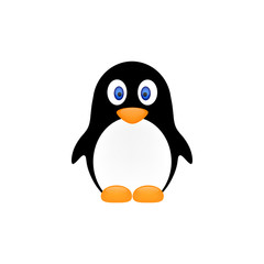 penguin icon vector illustration eps10.