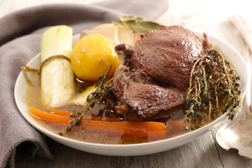 beef and vegetable