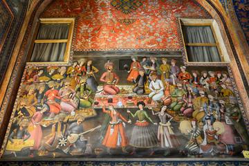 ChehelSotoun Palace, Isfahan, Iran