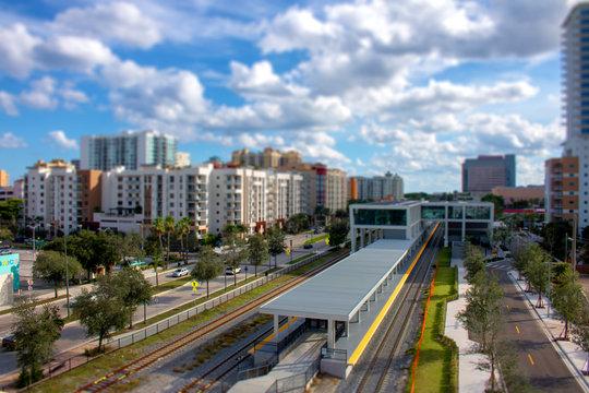 West Palm Beach Miniature Tilt Shift