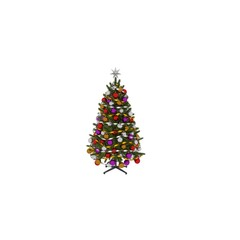3d render christmas tree