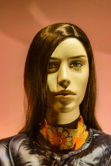 Women Mannequin at Window Store, Venice, Italy