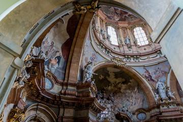 Église Saint-Nicolas de Malá Strana à Prague
