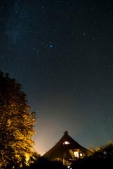 Sternenhimmel über dem Darß mit Milchstraße