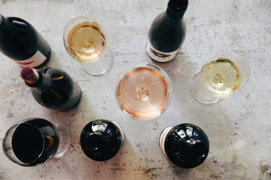 Wines from above