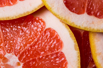 the grapefruit background