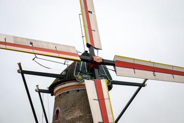 dutch old windmill