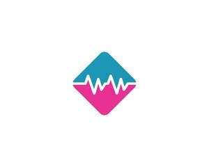 Heartbeat logo illustration