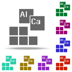 chemistry, elements icon. Elements of Genetics and bioenginnering in multi color style icons. Simple icon for websites, web design, mobile app, info graphics