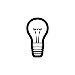 Lamp icon vector illustration.