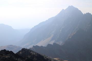 Mengusovska dolina valley from Kôprovský štít peak, High Tatras, Slovakia