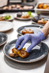 Restaurant kitchen life concept