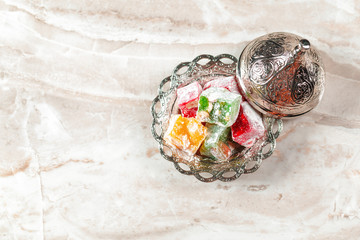 Delicious Colorful Turkish Delights