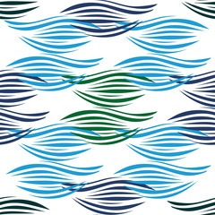 Abstract pattern. Seamless background. Decorative texture for design of surfaces.