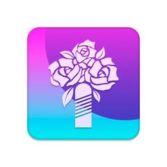иконка розы