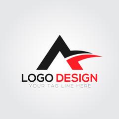 A Letter Logo Vector Illustration
