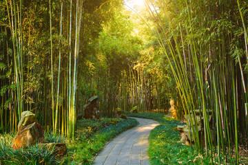 Photo sur Aluminium Bambou Wangjiang Pavilion in Wangjianglou park. Chengdu, Sichuan, China