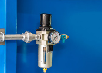 Air regulator use to adjusting the air pressure in pipes and water filters in the air pipes.