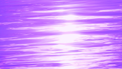 water surface with ripples and waves. sun glare. aquatic background. tinted
