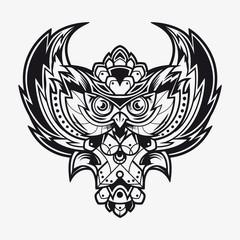 Owl Tattoo Design Art
