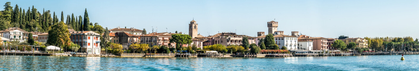 old town of sirmione Wall mural