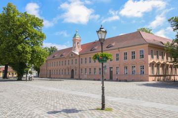 Fontanestadt Neuruppin, Mark Brandenburg, old grammar school, Germany, Ramblings through Brandenburg