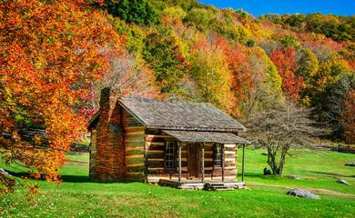 Grayson Highlands - Virginia State Park Historic Homestead Cabin