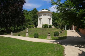 Fontanestadt Neuruppin, Mark Brandenburg, temple garden, Germany, Ramblings through Brandenburg