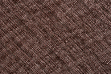 brown fabric texture for background.