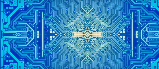 abstract background digital technology motherboard track pins