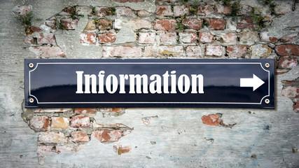 Schild 390 - Information