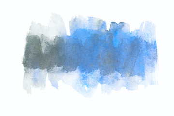 watercolor texture blue stripe with gray