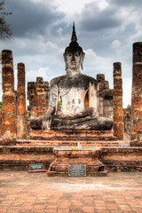 Sukhothai Historical Park is one of the most famous tourist sites in central Thailand