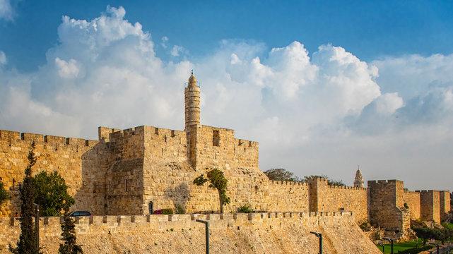 Walls of Ancient City of Jerusalem