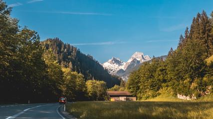 Beautiful alpine view at Lofer - Tyrol - Austria