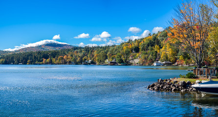 Lake George Fall Landscape