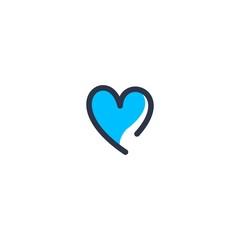 Heart logo vector donwload