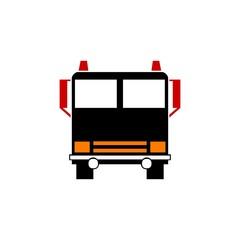 bus logo vector abstract