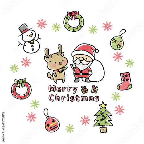 100枚以上のおすすめ画像】 クリスマス 手書き イラスト , 壁紙